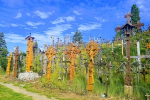 From Siauliai: Hill of Crosses & Rundale Palace Private Tour
