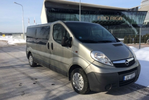 Riga Airport: 1-Way Private Transfer to Ventspils