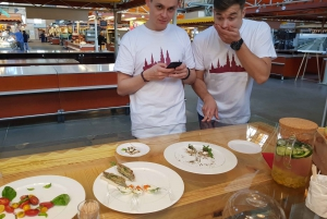 Riga: Central Market and Food Tasting Tour