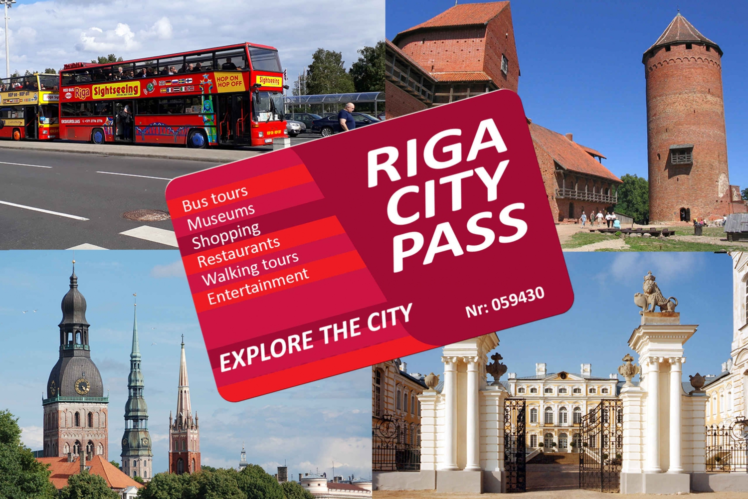 Riga: Tours and Discounts City Pass without Time Limit