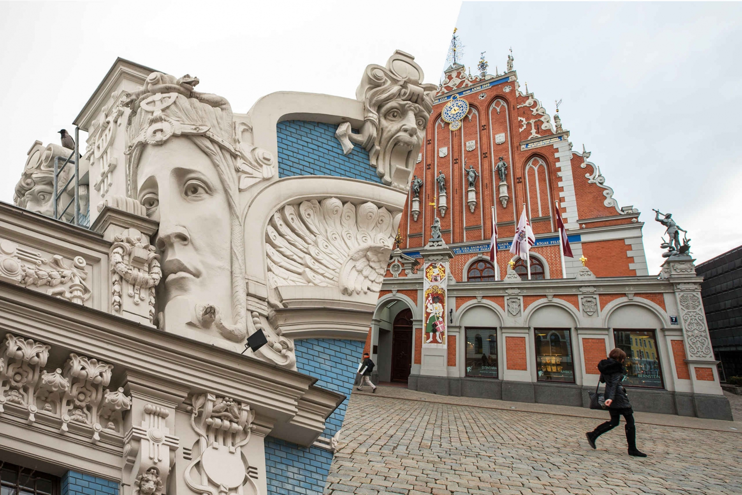 Riga's Old Center and Art Nouveau Tour