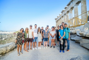 Acropolis: Entrance Ticket and Guided Walking Tour