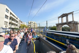 Athens, Piraeus, and Coastline: Blue Hop-On Hop-Off Bus