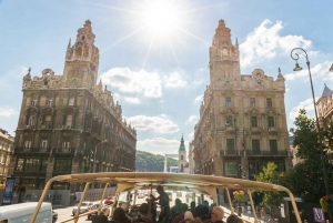 Budapest: 24, 48 and 72-Hour Hop-On Hop-Off Bus Tour
