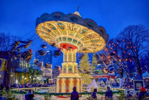 Copenhagen Tivoli Gardens Fast-Track Ticket & Optional Rides