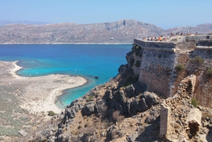 From Chania: Gramvousa Island and Balos Bay Full-Day Tour