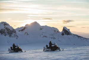 From Reykjavik: Golden Circle and Glacier Snowmobile Tour