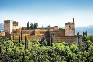 Granada: Alhambra, Gardens and Alcazaba Guided Tour