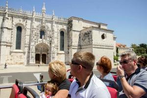 Lisbon: Lisbon and Cascais Hop-On Hop-Off Bus Tour