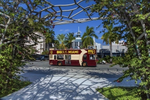 Miami: Half-Day Open-Top Bus and 90-Minute Boat Tour