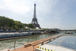 Paris: 1-Hour Sightseeing Cruise and Bistro Lunch