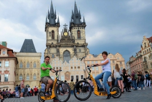 Prague: 4-Hour Segway and Scooter Tour with Lunch and Drinks