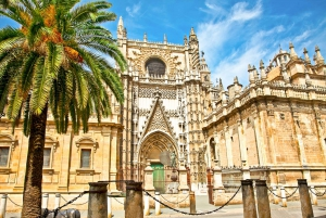 Seville: Super Combo Cathedral and Alcazar 4-Hour Tour