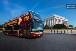 Washington DC: Hop-On, Hop-Off Open-Top Bus Landmarks Tour