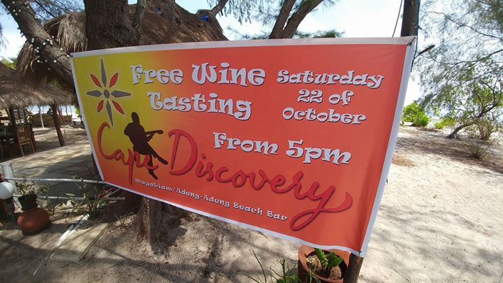 Cape Discovery Free Wine Tasting