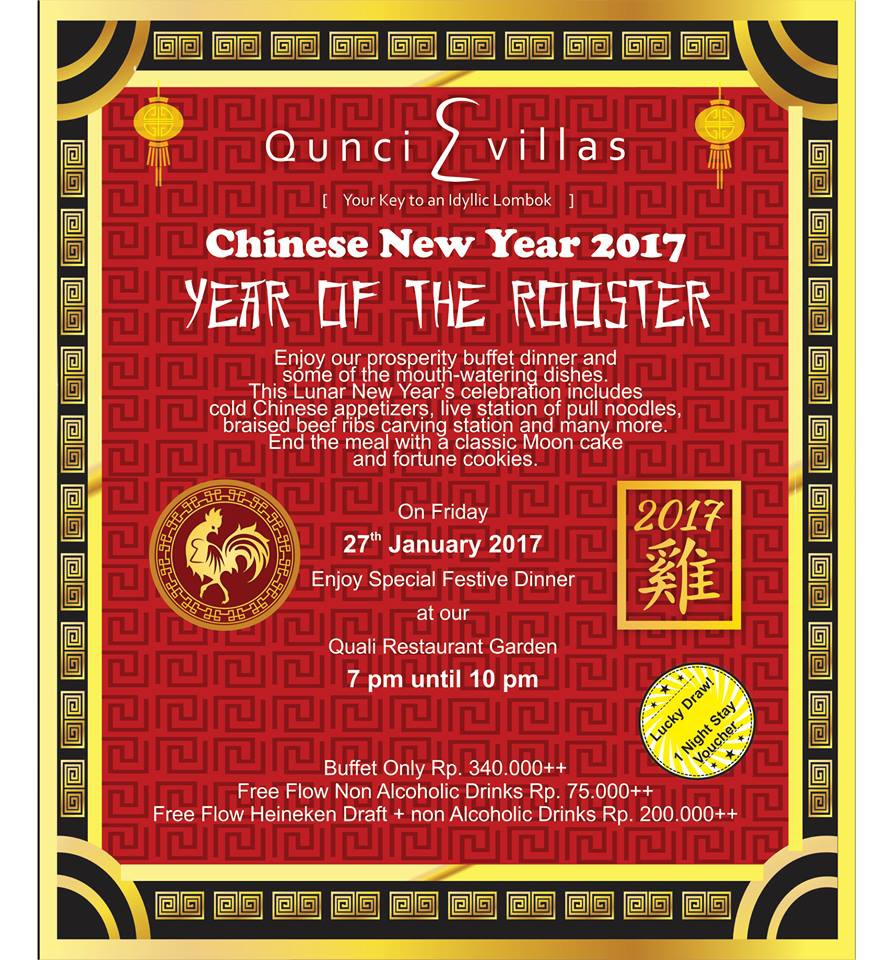 Chinese New Year @ Qunci