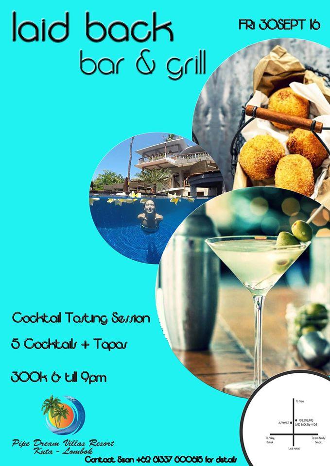 Cocktail taste and Tapas
