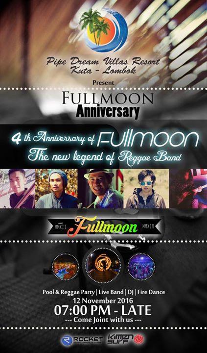 Fullmoon 4th Anniversary