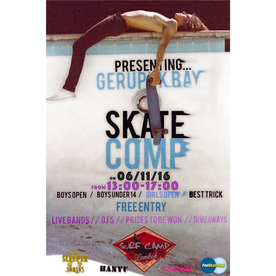 Gerupuk Skate Comp 2016