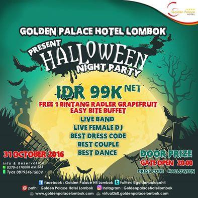 Halloween @ Golden Palace Hotel