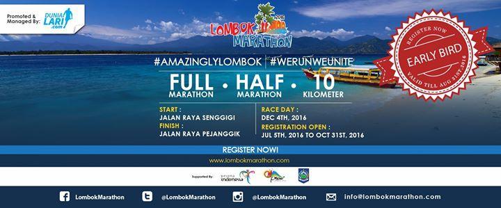 Lombok Marathon 2016
