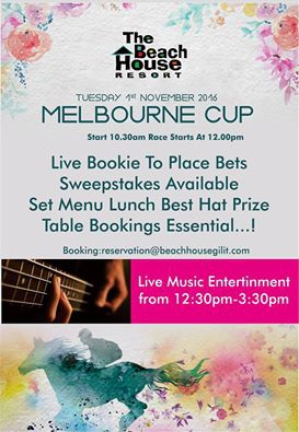 Melbourne Cup @ The Beach House Resort