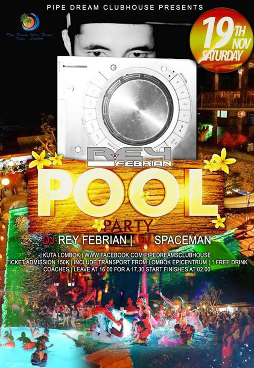 Pool Party II Lombok On FIRE