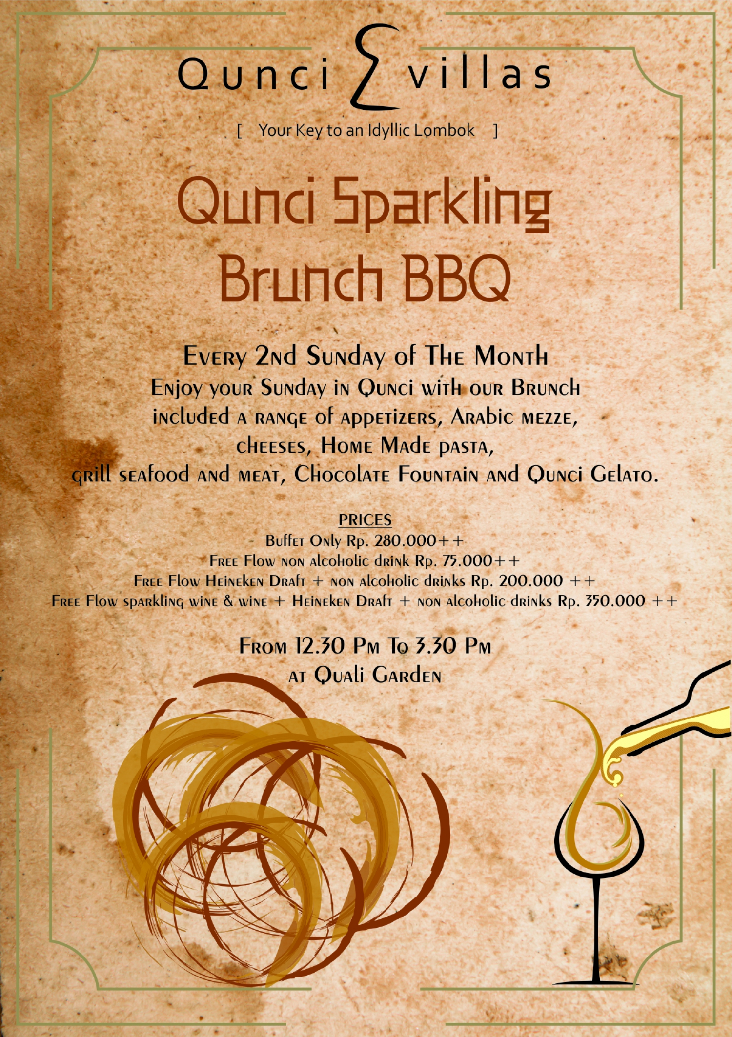 Qunci Sparkling Brunch BBQ