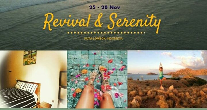 Revival & Serenity. Aspiring to a state of Balance