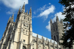 Canterbury Cathedral, Dover Castle, and White Cliffs
