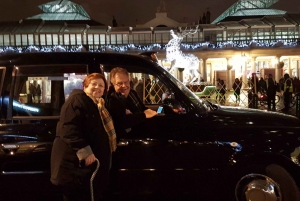 Christmas Lights Tour in a Black Cab