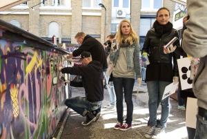 East London: Street Art Tour & Spray Painting Session