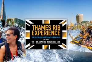 London: 40-Minute Ultimate Tower RIB Blast Speedboat Tour