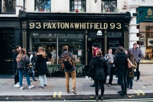 London: Cheese Walking Tour with Tastings