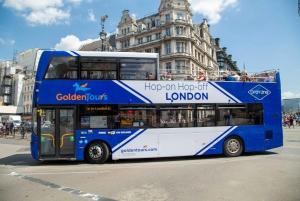 London Hop-On Hop-Off Open Top Bus Tour