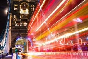London: Nighttime Bus Tour and River Cruise