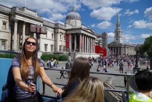 London: Panoramic Open-Top Bus Tour