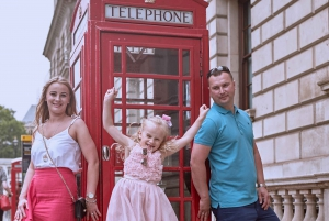 London: Private 1-Hour Professional Westminster Photo Shoot