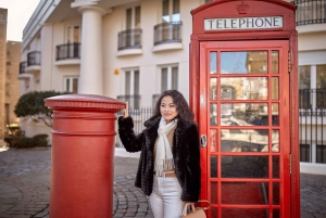 London: Private 30-Minute Photo Shoot at Tower Bridge
