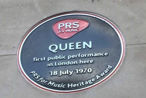 London: Queen and Freddie Mercury Exploration Game and Tour