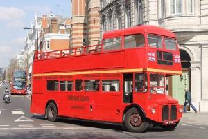 London Vintage Bus Tour and Cream Tea at Harrods