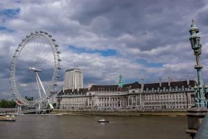 Panoramic London from Kensington to Westminster in Spanish