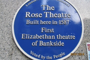 Shakespeare in London 3-Hour Guided Walking Tour