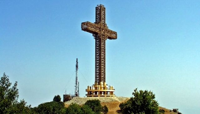 Millenium Cross at Vodno