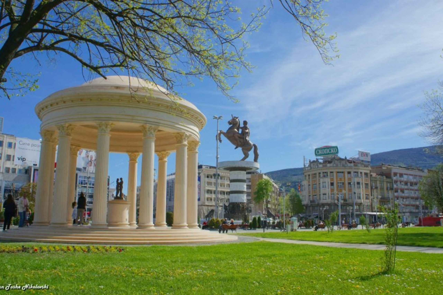 Skopje 4-Hour Walking Tour