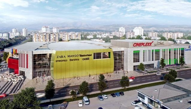 Skopje City Mall