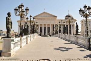 Skopje: Neoclassical City Walking Tour