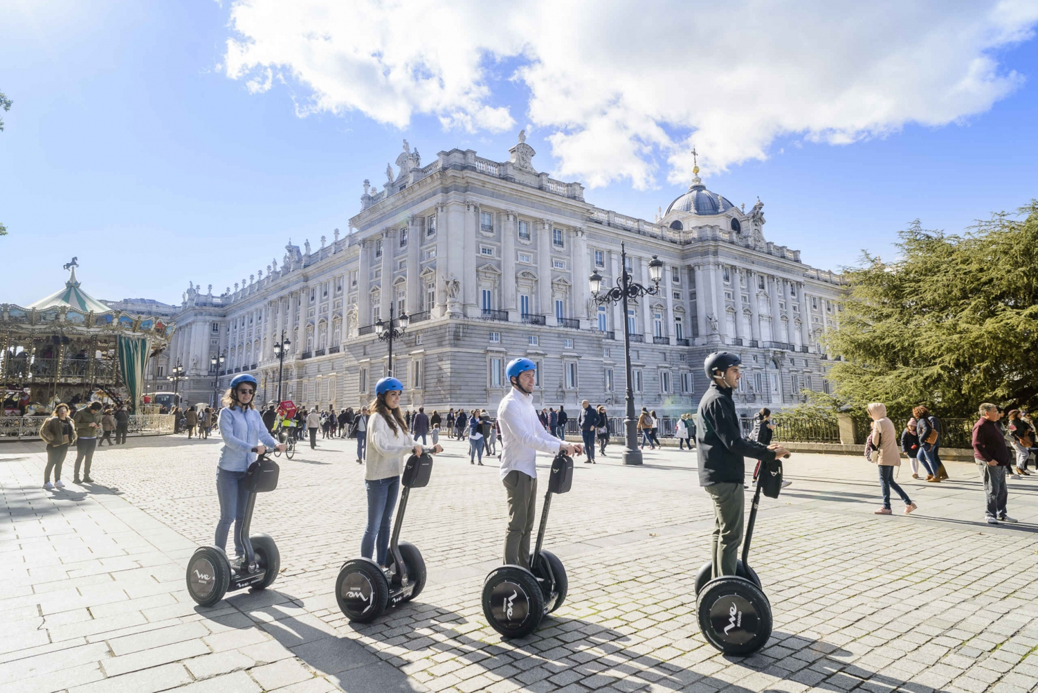 1.5 hour Madrid Segway Tour with Cathedral & Crypt Access