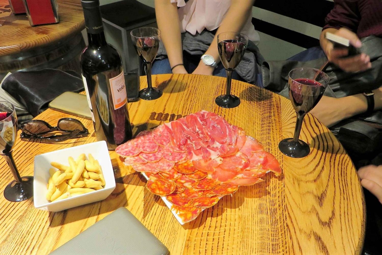 2.5-Hour Wine Tasting, Ham & Tapas Tour