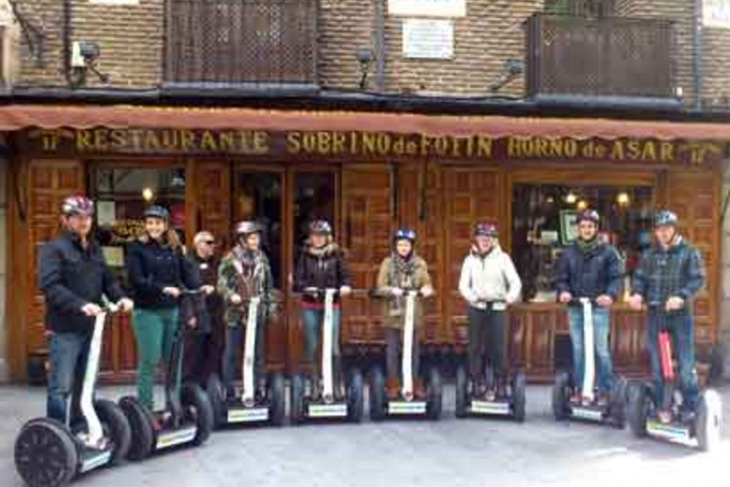 3-Hour Segway Tour and Botín Restaurant Lunch